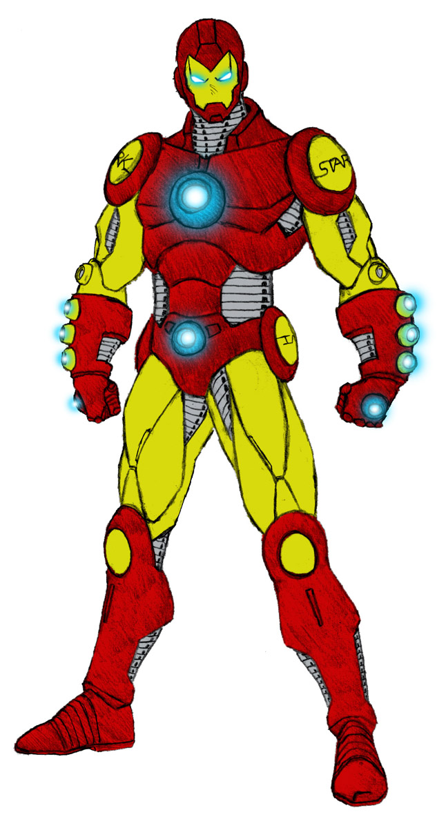 another Iron Man design by Grebo-Guru