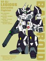VF-6 Legioss - battroid by Grebo-Guru
