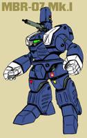 MBR-07 Mark I prototype Spartan by Grebo-Guru