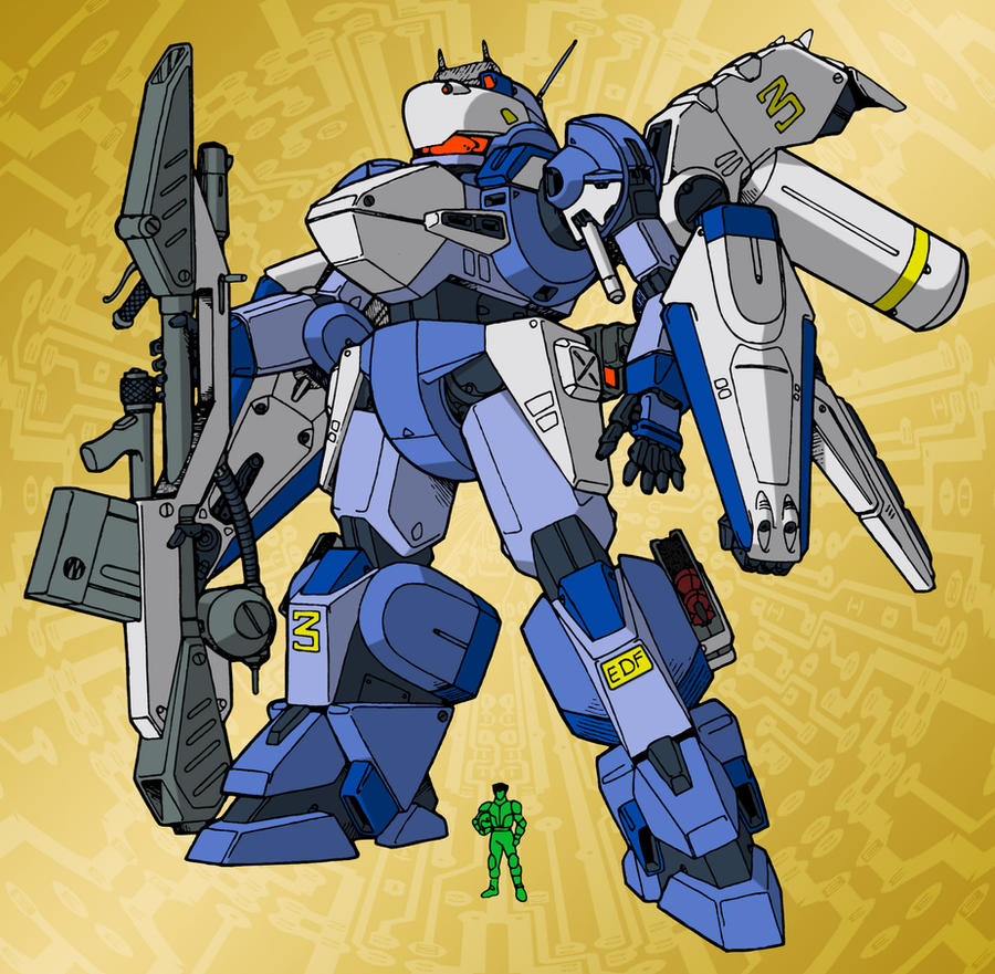 EMA-219XT Armored Turbo [color] by Grebo-Guru