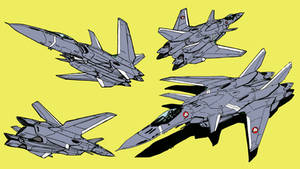 VF-18 Metal Siren (fighter mode)