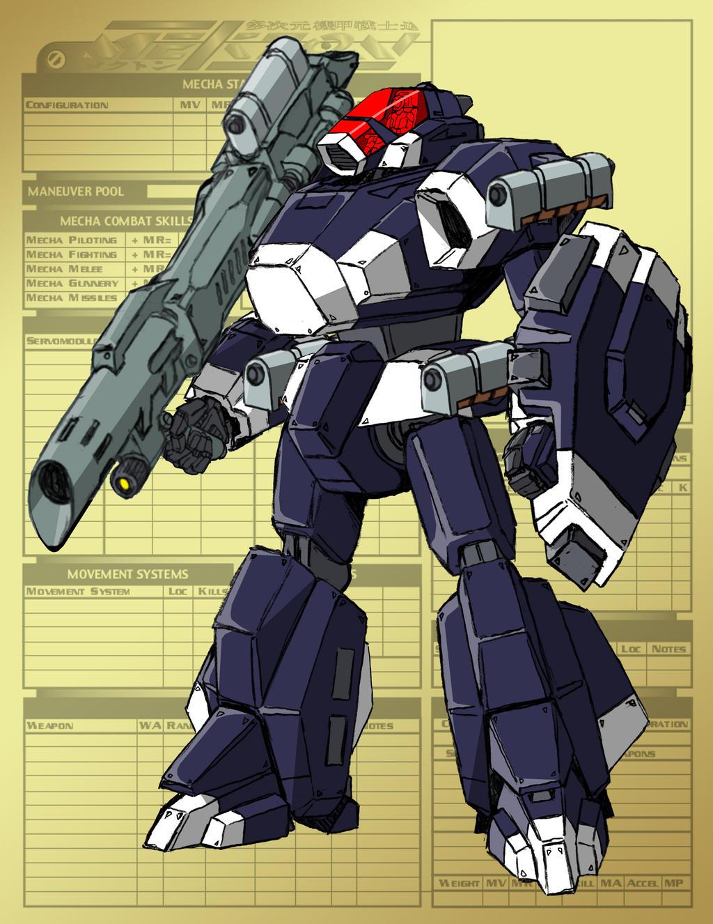 IMK-05 Rampage (full gear) by Grebo-Guru