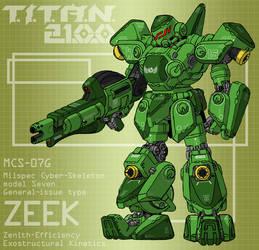 ZEEK with frag cannon (for T.I.T.A.N. 2100) by Grebo-Guru