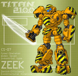 ZEEK with fusion cutter (for T.I.T.A.N. 2100) by Grebo-Guru