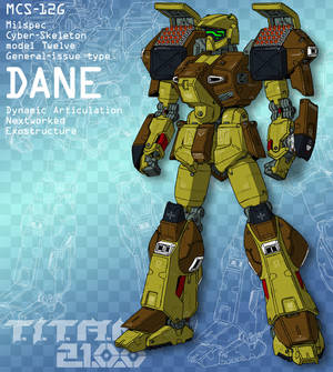 DANE with missile bays open (for T.I.T.A.N. 2100)