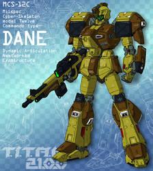DANE - commando weapons set (for T.I.T.A.N. 2100) by Grebo-Guru