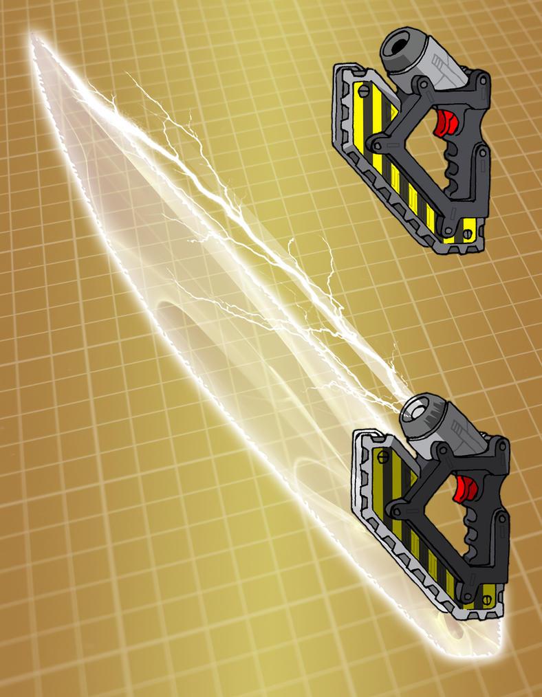 Mecha fusion cutter (for T.I.T.A.N. 2100) by Grebo-Guru