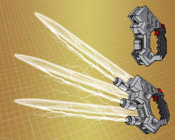 Mecha fusion claw (for T.I.T.A.N. 2100)