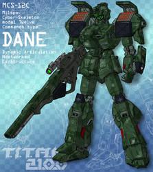 DANE - sniper commando (for T.I.T.A.N. 2100)