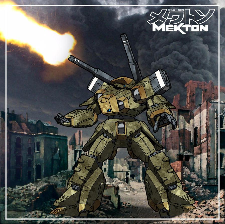 Deathstalker Cannon - artillery strike by Grebo-Guru