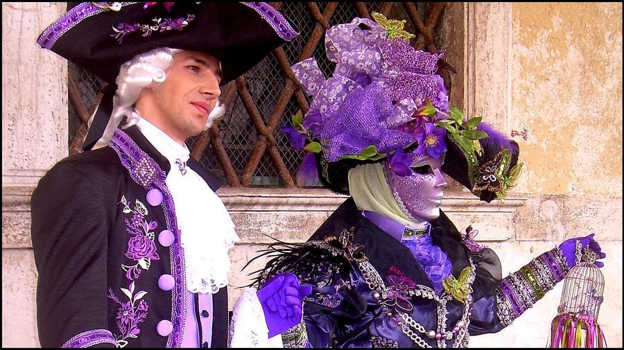 Costume, Venice Carnival 2011 - free stock photography