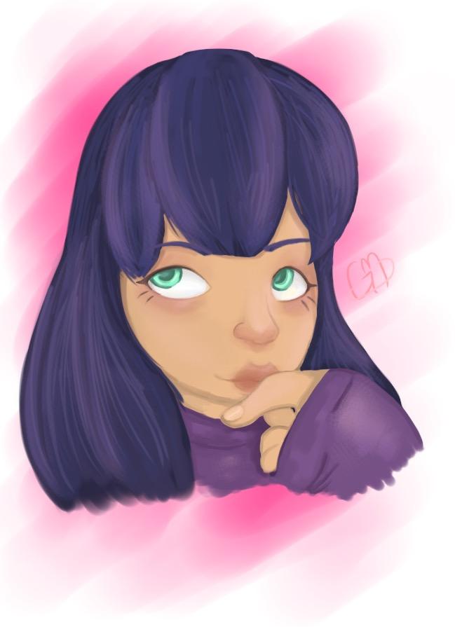 Purple by MightyMinako
