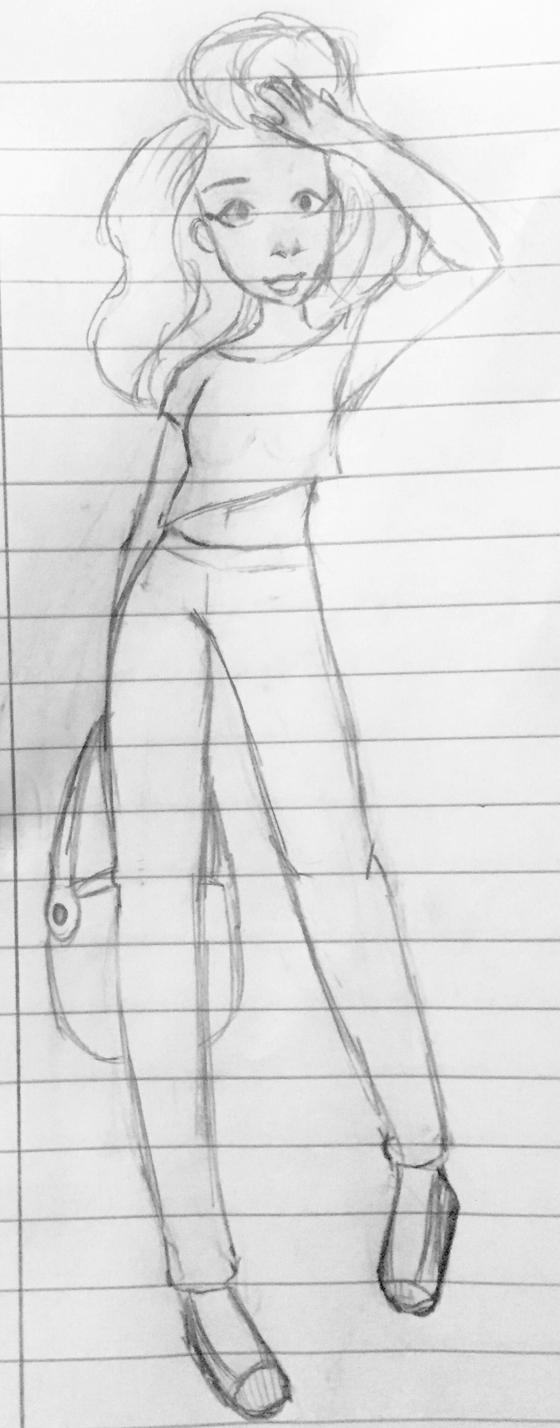 A Little Sketch by MightyMinako