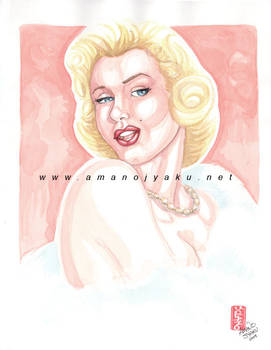 Marylin in Watercolors