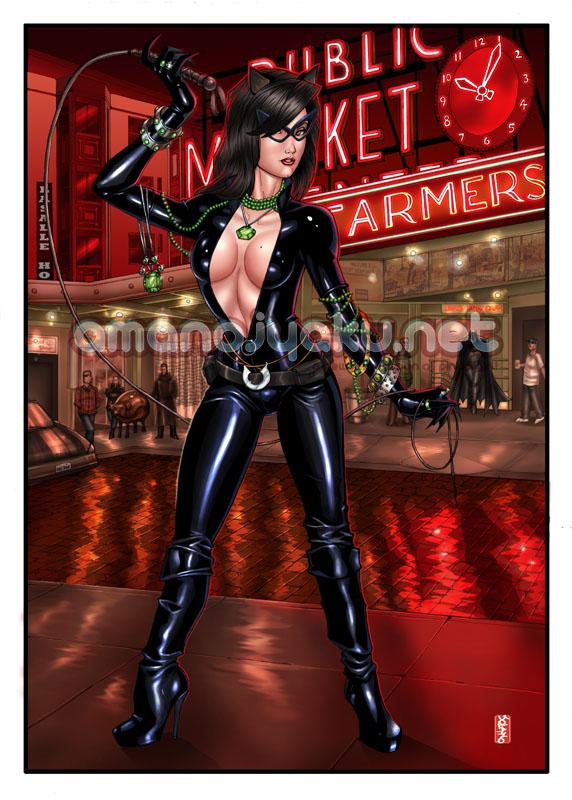 Emerald City Catwoman by amanojyaku