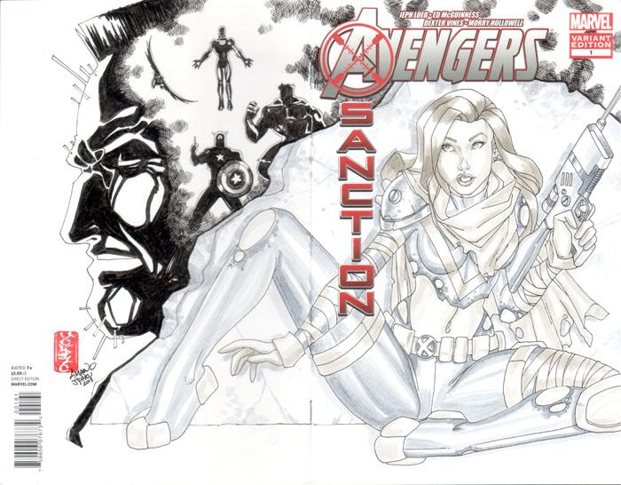 Avengers Xsanction #1 - Hope (2013) by amanojyaku