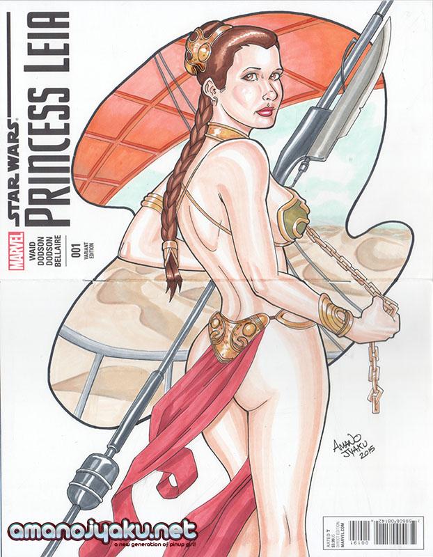Princess Leia 001 - Metal Bikini by amanojyaku