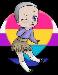 Genderfluid baby by coockie8