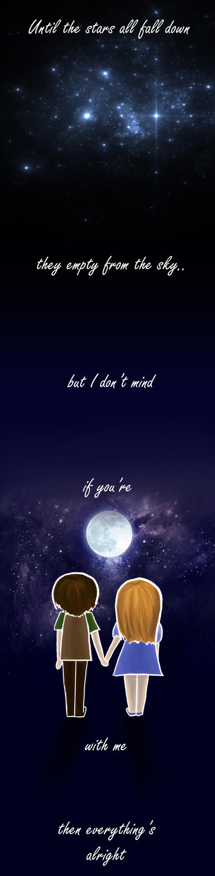 To the Moon Valentines Day Card by meiyue