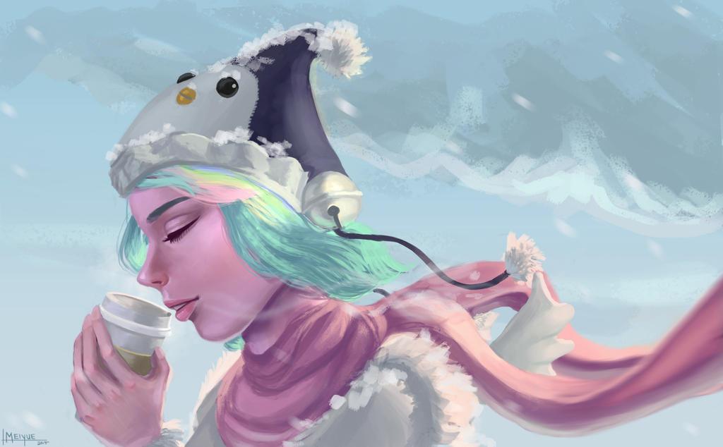 The Feel of Winter by meiyue