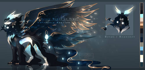 [CLOSED, TYSM !] - Norse Wings of Time [AUCTION]