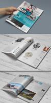 Magazine Template - Photoshop PSD