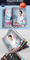 Magazine Template Bundle Vol.3