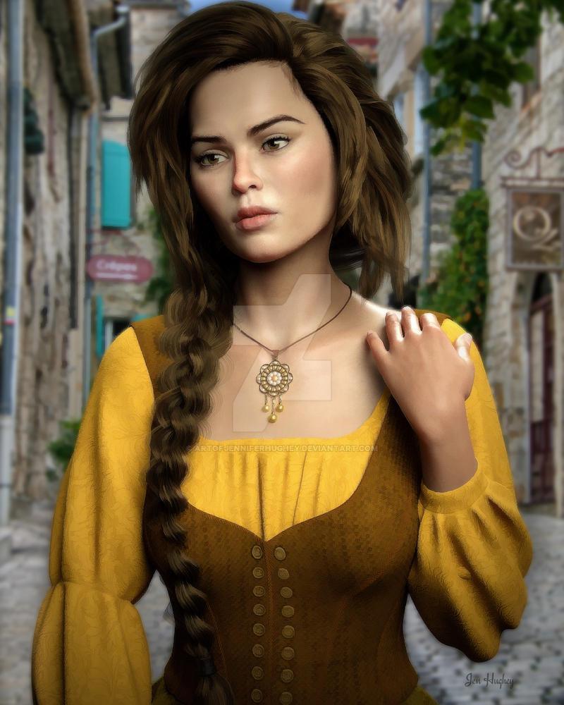 Amberyl Character study by DigiFantasies