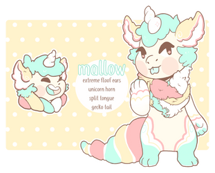 [ gremlin dragons ] mallow! by ohfolly