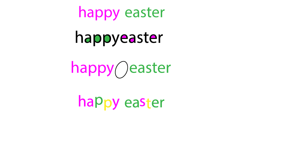 Happyeaster-fonts by vino