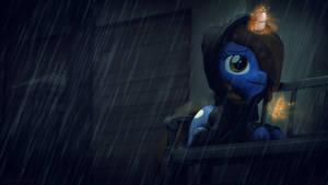 Rainy Night by Shaboodleguitar
