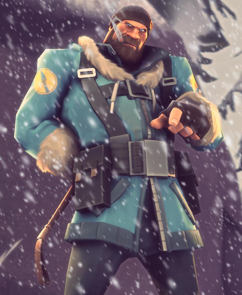 Blu Soldier by Shabood...