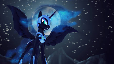 Nightmare Moon by Shaboodleguitar