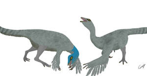 Prehistoric park Ep:1.1 Ornithomimus velox