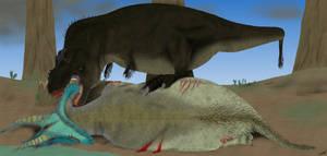 Tyrannosaurus Vs Triceratops 2.0