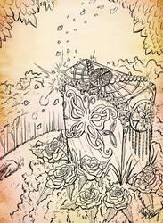 Inktober 04 - Mettaton Idol