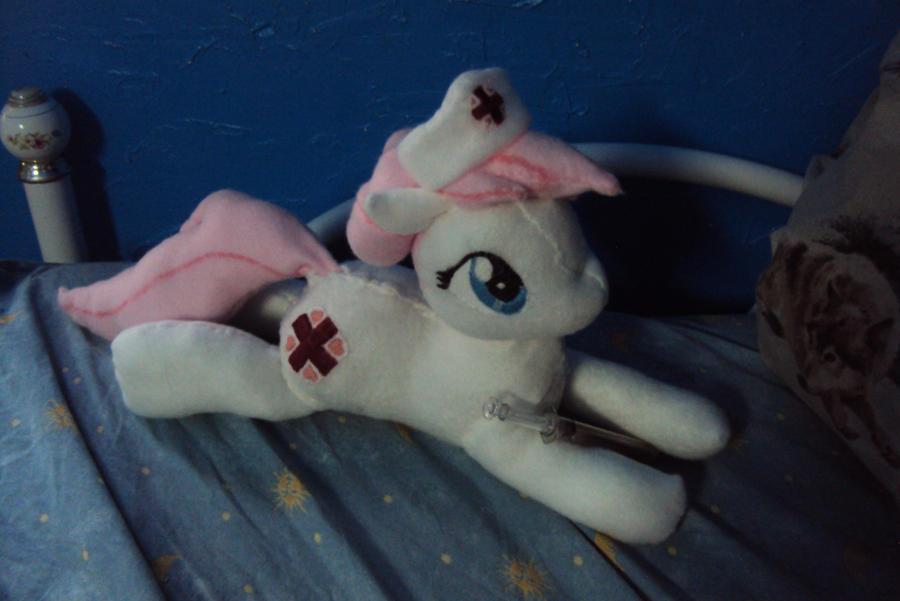Nurse Redheart Plushie by Azedo