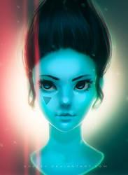 BLUE HEAD by NIGOGOLEV