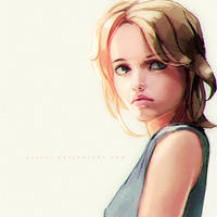 Blonde girl!