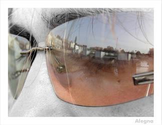 Um reflexo ... by A-legn-A