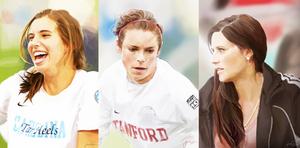 USWNT Football Portraits by magicalzebra