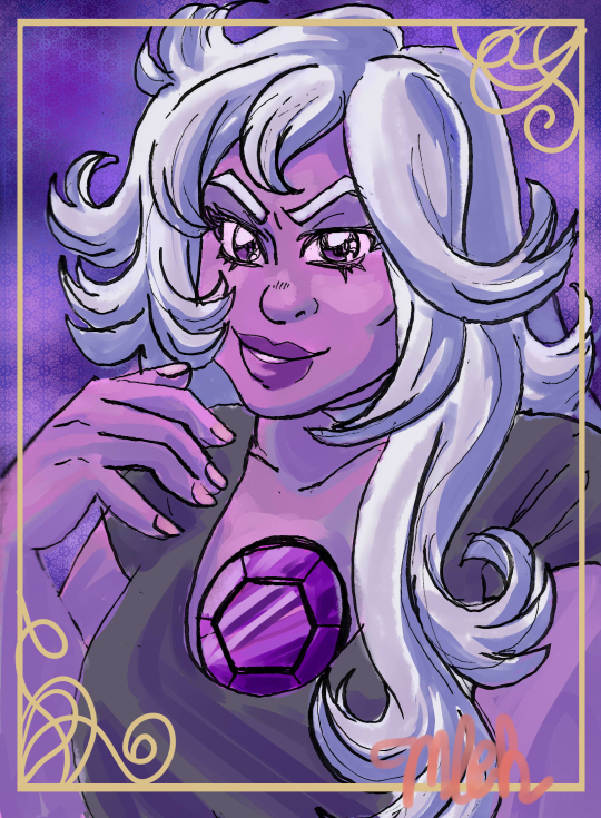 Amethyst from Steven Universe. Aaahh shes such a great character. Tumblr link tarocandy.tumblr.com/post/1658…