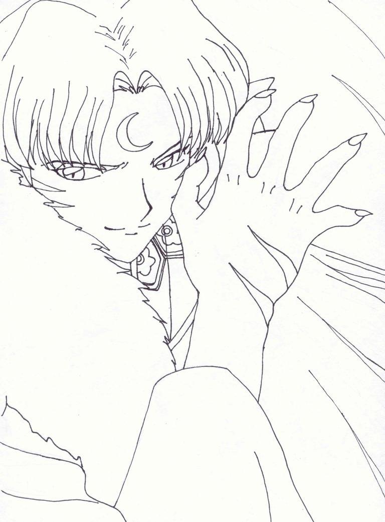 sesshomaru coloring pages - photo#15