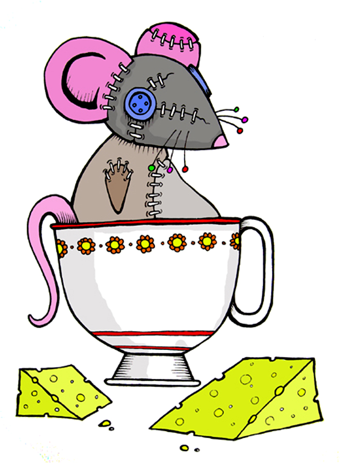 Stitch Punk Mouse 2 by DarylHobsonArtwork