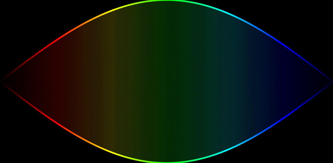 The Rainbow Eye in The Dark by YuriMetal