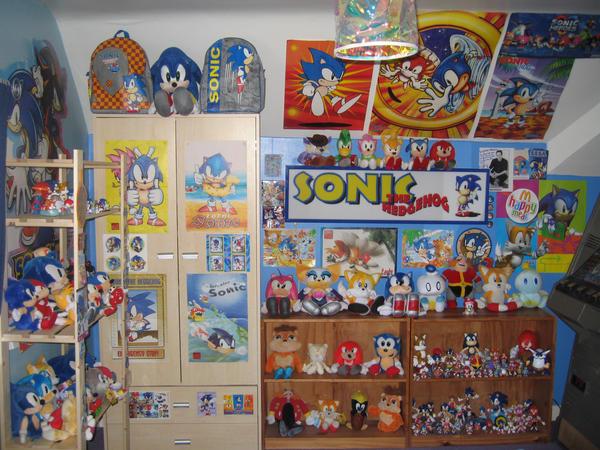 My Sonic Room 2008 by sonicrules100. My Sonic Room 2008 by sonicrules100 on DeviantArt