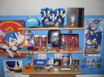 Sonic Items On Shelf 2008