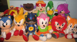 Sonic The Fighters Full Set