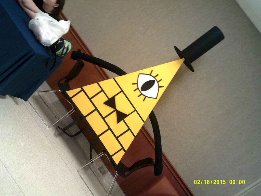 BILL CIPHER!! by New-CosplayGirl