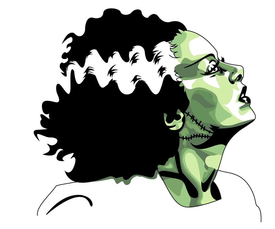 Bride of Frankenstein by JadesTrick on DeviantArt